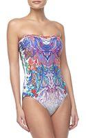 Gottex Koh Phanhgan Printed Onepiece Swimsuit - Lyst