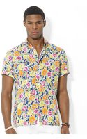 Polo Ralph Lauren Short Sleeve Floral Print Warren Camp Shirt - Lyst