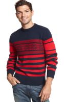 Tommy Hilfiger Cabot Fair Isle and Striped Sweater - Lyst