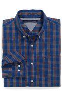 Tommy Hilfiger Custom Fit Short Sleeve Shirt - Lyst