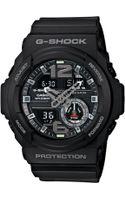 G-shock Mens Analogdigital Chronograph Black Resin Strap Watch 55x52mm Ga3101a - Lyst