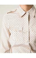 Tory Burch Military Shirt - Lyst