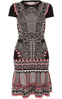 Temperley London Keita Fitted Dress - Lyst