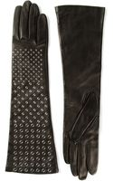 Ermanno Scervino Studded Gloves - Lyst