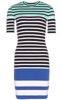 T By Alexander Wang Cotton Stretch Dress - Lyst