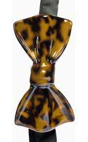 Cor Sine Labe Doli Ceramic Bow-tie - Lyst