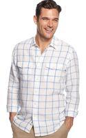Tommy Bahama Long Sleeve Montauk Breezer Linen Shirt - Lyst