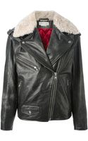 Etoile Isabel Marant Benny Biker Jacket - Lyst