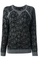 Marc By Marc Jacobs Printed Sweatshirt - Lyst