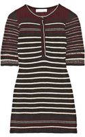 Etoile Isabel Marant Milroy Striped Cottonblend Top - Lyst