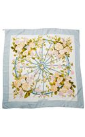 Hermes Preowned Romantique Silk Scarf - Lyst