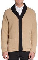 Burberry Prorsum Silkcashmere Knit Jacket - Lyst