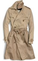 Coach Combo Slim Trench - Lyst
