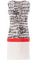 Giambattista Valli Reptile Printed Dress - Lyst