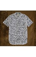 Denim & Supply Ralph Lauren Skullandfloral Sport Shirt - Lyst