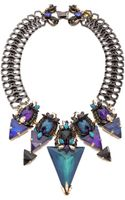 Erickson Beamon Talitha Necklace Blue Multi - Lyst