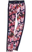 Hudson Leeloo Floralprint Skinny Jeans - Lyst