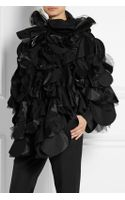 Junya Watanabe Oversized Patchwork Woolblend Cape - Lyst