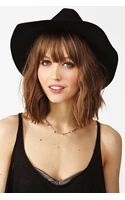 Nasty Gal Stevie Wool Hat Black - Lyst