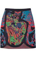 M Missoni Multi Coloured Jacquard Skirt - Lyst
