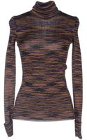 M Missoni Long Sleeve Sweater - Lyst