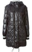 Fay Detachable Sleeves Padded Coat - Lyst