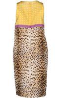 Les Copains Short Dress - Lyst