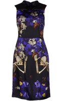 John Richmond Kneelength Dress - Lyst
