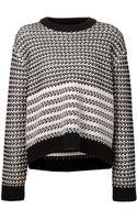 Proenza Schouler Striped Pullover Sweater - Lyst