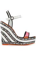 Sophia Webster Lucita Wedge Sandals - Lyst