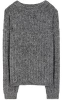 Acne Studios Dramatic Mohair and Woolblend Sweater - Lyst