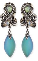 Alexis Bittar Crystal Lace Snake Clip-on Earrings - Lyst