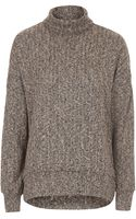 Topshop Cocoon Sweat - Lyst