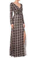 Ella Moss Joella Wrap Maxi Dress - Lyst