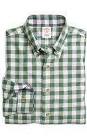 Brooks Brothers Noniron Regular Fit Buttondown Collar Gingham Sport Shirt - Lyst