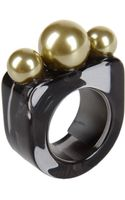 Mm6 By Maison Martin Margiela Ring - Lyst