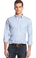 Tommy Hilfiger Big and Tall Drake Windowpane Shirt - Lyst