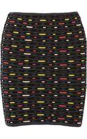 M Missoni Stretch Crochetknit Mini Skirt - Lyst