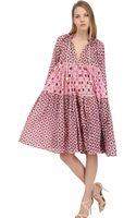 Yvonne S Printed Organic Cotton Dress - Lyst