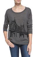 Joie Eloisa Bridgepattern Knit Sweater - Lyst