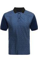 Alexander McQueen Jersey Harness Polo-shirt - Lyst