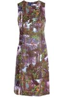 Carven Jungle Print Cotton Shift Dress - Lyst