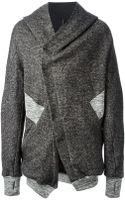 Boris Bidjan Saberi Panelled Hooded Jacket - Lyst