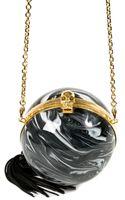 Alexander McQueen Sphere Skull Clutch - Lyst