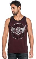 Affliction Ac Fallout Graphic Tank - Lyst
