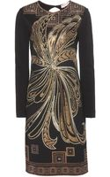 Emilio Pucci Embellished Stretch Dress - Lyst