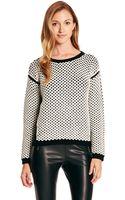 Hugo Sahana  Virgin Wool and Cashmere Blend Knit Sweater - Lyst