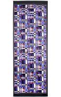 Armani Printed Silk Scarf - Lyst