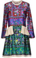 Caterina Gatta Short Dress - Lyst