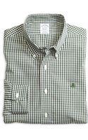 Brooks Brothers Noniron Slim Fit Mini Gingham Sport Shirt - Lyst